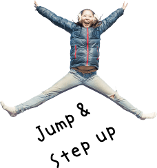 Jump & Step up